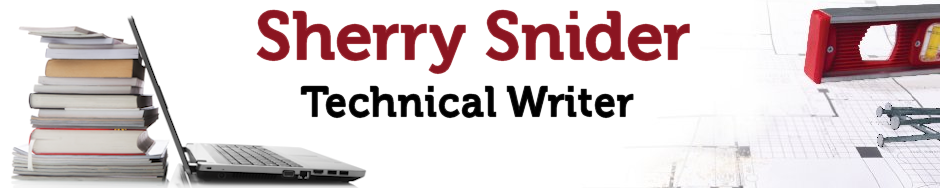 SHERRY SNIDER, Technical Writer